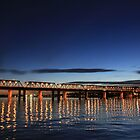 Iron Cove Bridge at dusk by Arfan Habib