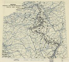 December 27 1944 World War II Twelfth Army Group Situation Map by allhistory