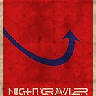 Minimalist Nightcrawler by Adam Grey