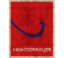 Minimalist Nightcrawler Photographic Print