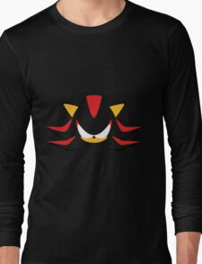 Shadow the Hedgehog Minimalistic Design Long Sleeve T-Shirt
