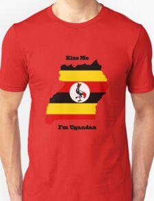 Kiss Me I'm Ugandan T-Shirt