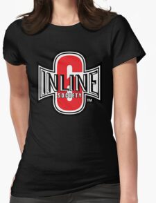 Inline 6 Society - Design #2 Womens Fitted T-Shirt
