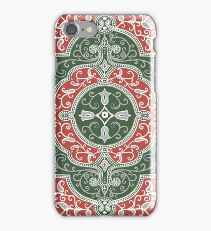 Eastern rectangular pattern iPhone Case/Skin