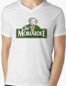 Chef Moriardee Mens V-Neck T-Shirt