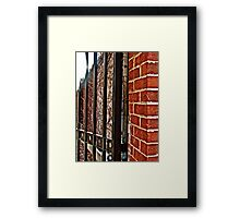 and education Framed Print