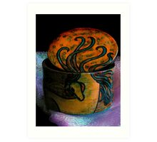 Curled Mane Art Print