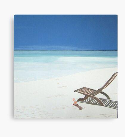 Feel The Sun... Canvas Print