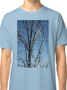 Mother Nature's Christmas Decorations - Icy Twig Jewels Classic T-Shirt