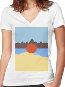 Childish Gambino - Kauai Women's Fitted V-Neck T-Shirt
