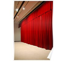 Theater stage curtains Poster
