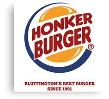 Honker Burger Canvas Print