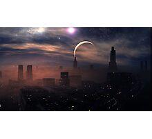 Evening Sandstorm Photographic Print