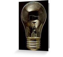 High Temp Appliance Bulb Greeting Card