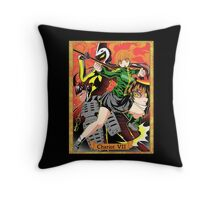 Chariot vii Throw Pillow