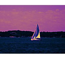 Kissed By Sunset Photographic Print