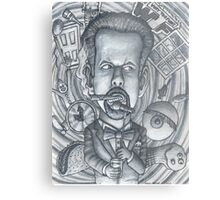 "Little Rock Comedian, Micheal ""Doc"" Davis Metal Print"
