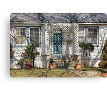 Little house front Canvas Print