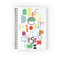 Cut&Paint Alphabet Spiral Notebook