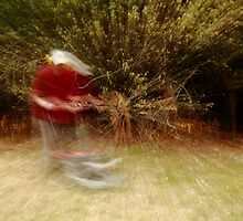 Zooming along with a Mower by Glynn Jackson