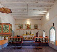 Inner Sanctuary at La Purisima Concepcion by Brendon Perkins