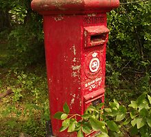 Post Box, Sri Lanka by Derek  Rogers