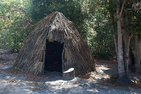 Native Dwelling at La Purisima Concepcion by Brendon Perkins