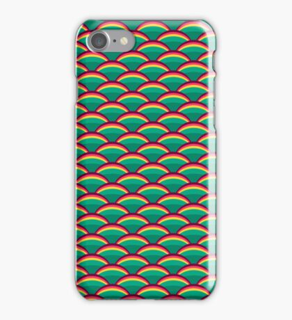 Green Scales Skin Pattern iPhone Case/Skin