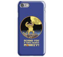 A Three headed Monkey! iPhone Case/Skin
