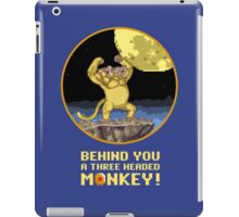 A Three headed Monkey! iPad Case/Skin