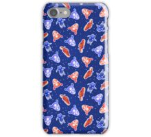 Space Pattern with Aliens iPhone Case/Skin