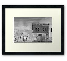 Native Abandonement Framed Print