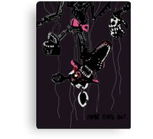 FNAF 4 Nightmare Mangle T-shirt Canvas Print