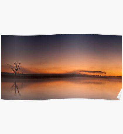 Swan Lake - Badgerys Creek, NSW Poster