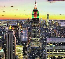 New York City Manhattan Skyline by limitlezz