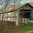 Doyle Road Covered Bridge by Geno Rugh