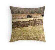 Back To The Old Days Throw Pillow