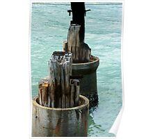 Moorings - Cairns Marina, FNQ, Australia Poster