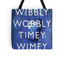 Doctor Who Timey Wimey Tote Bag