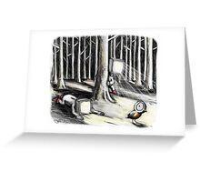 The Birdwatchers Greeting Card