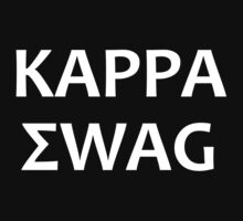 Kappa Swag (White) by M. Russell