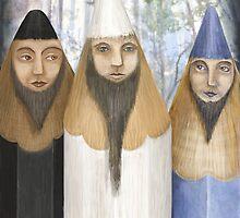 Three Pencilheads gather together by fizzyjinks