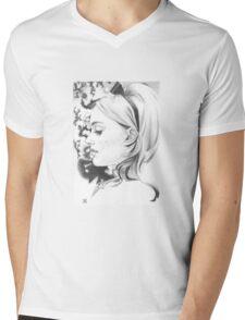 Miss Dior Mens V-Neck T-Shirt