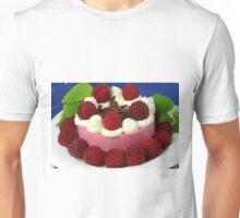 Raspberry and Cream Unisex T-Shirt