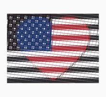 United States Flag T-shirt Kids Clothes