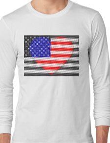 United States Flag T-shirt Long Sleeve T-Shirt