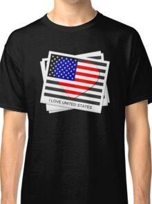 United States Flag T-shirt Classic T-Shirt