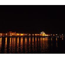 Prague at night Photographic Print