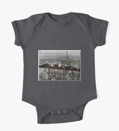 Napping High Above New York One Piece - Short Sleeve