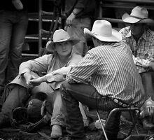 Taralga Rodeo bg 2 by Graham Grocott